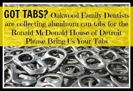 Please Save for us your Aluminum Can TABS!